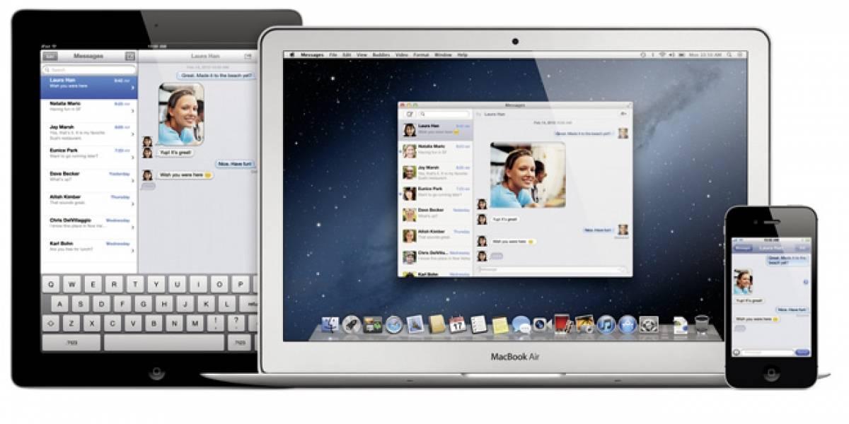 El nuevo Messages ya se puede descargar en OS X Lion