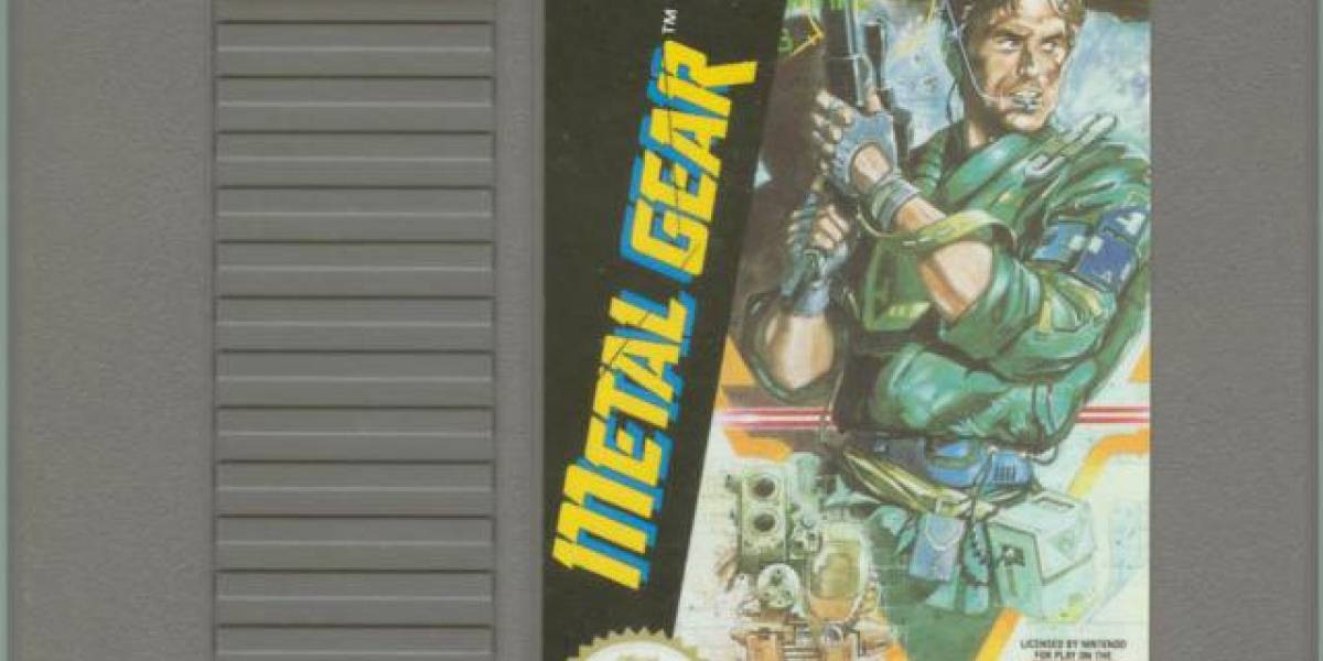 Kojima se avergüenza de la versión de Metal Gear para NES