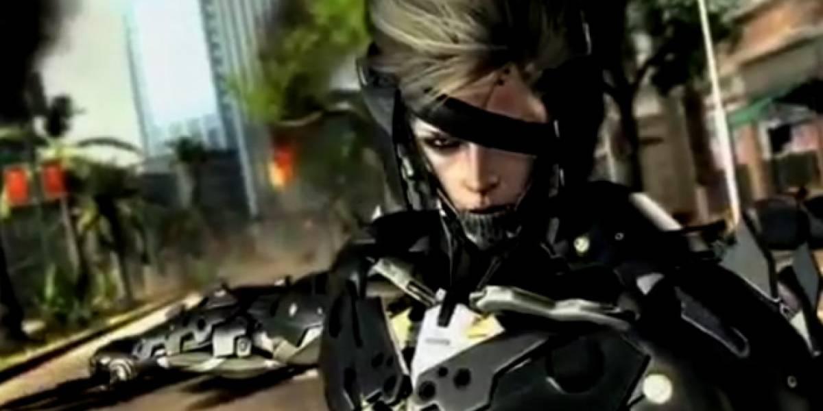 Metal Gear Rising: Revengeance se filtra directo desde los VGA [VGA 2011]