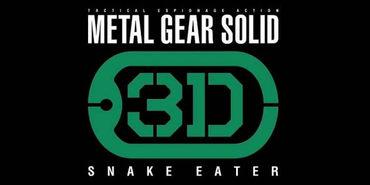 Metal Gear Solid 3DS pesará algo así como 4GB [E3 2011]