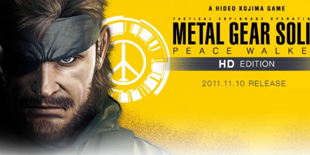 Cuatro minutos de Peace Walker HD en acción y otras novedades de Kojima