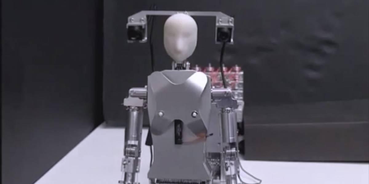 Robot compañero se sienta en tu hombro y te ayuda a conversar