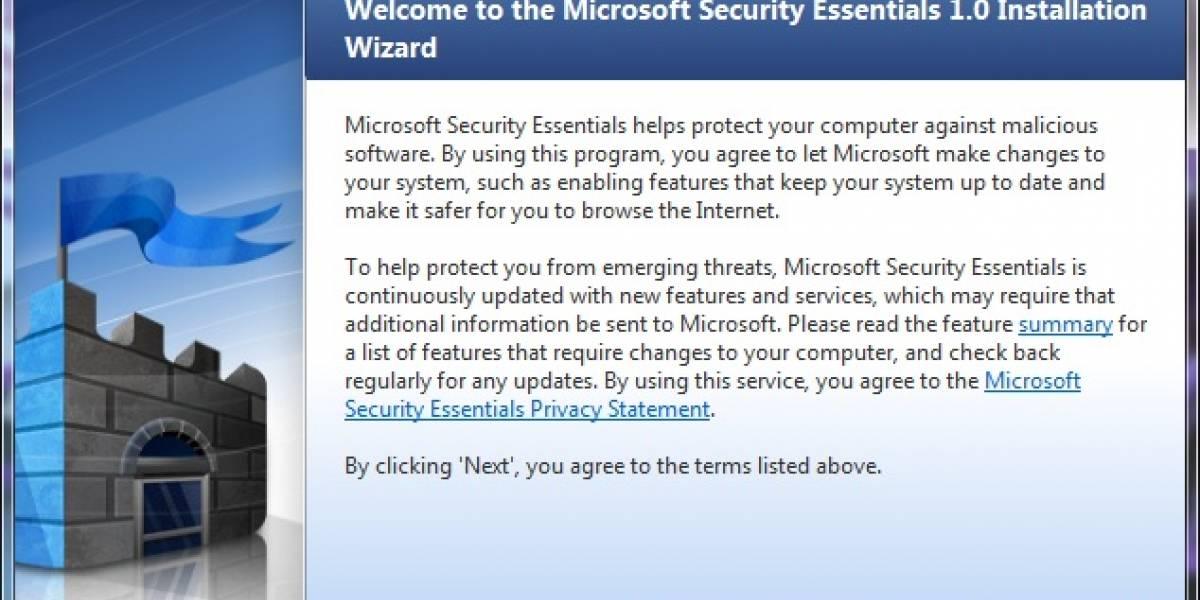 Microsoft Security Essentials (Morro) Beta disponible para el público