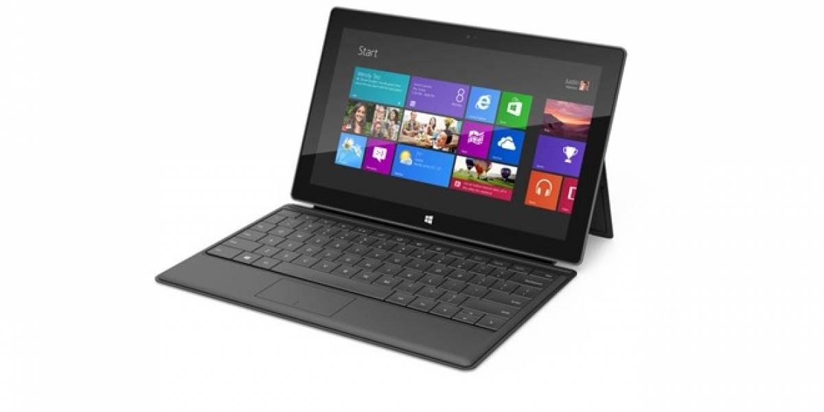 Estas son las especificaciones de las tablets Microsoft Surface