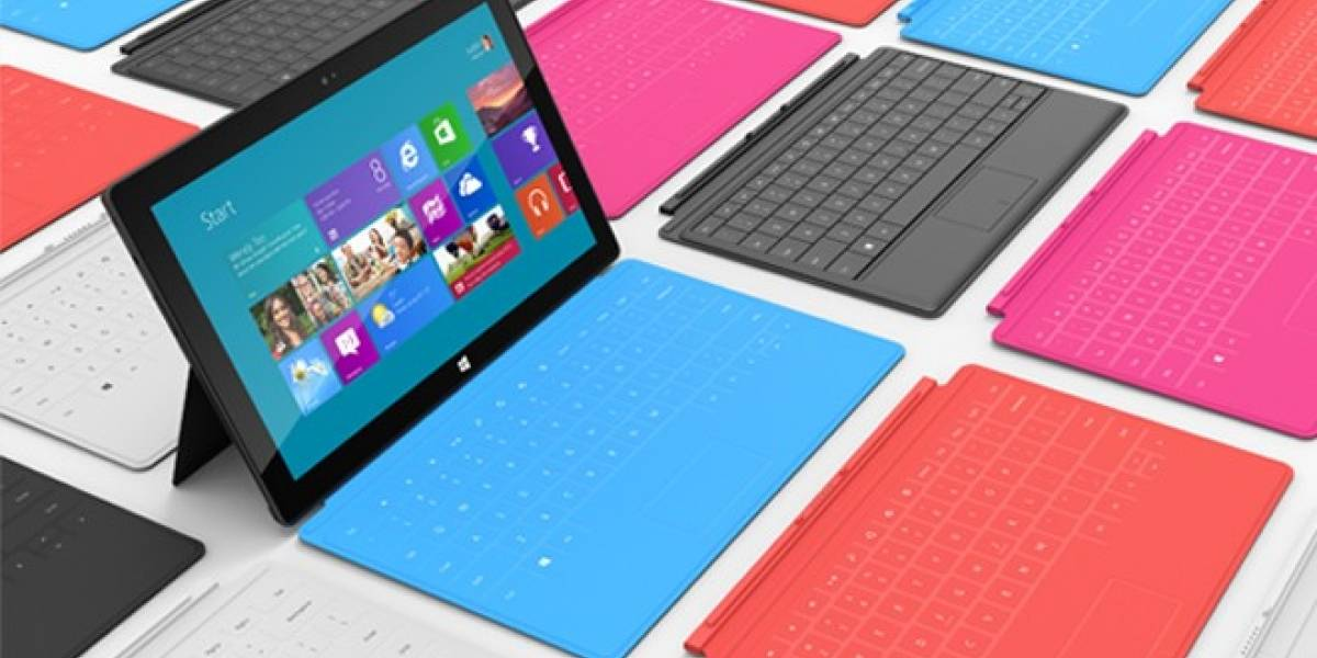 IDC asegura que Microsoft prepara 3 millones de Surface para su lanzamiento