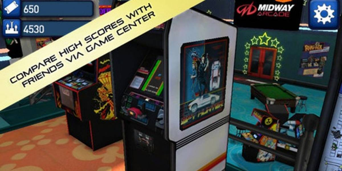 Los arcades de Midway Arcade llegan a iOS