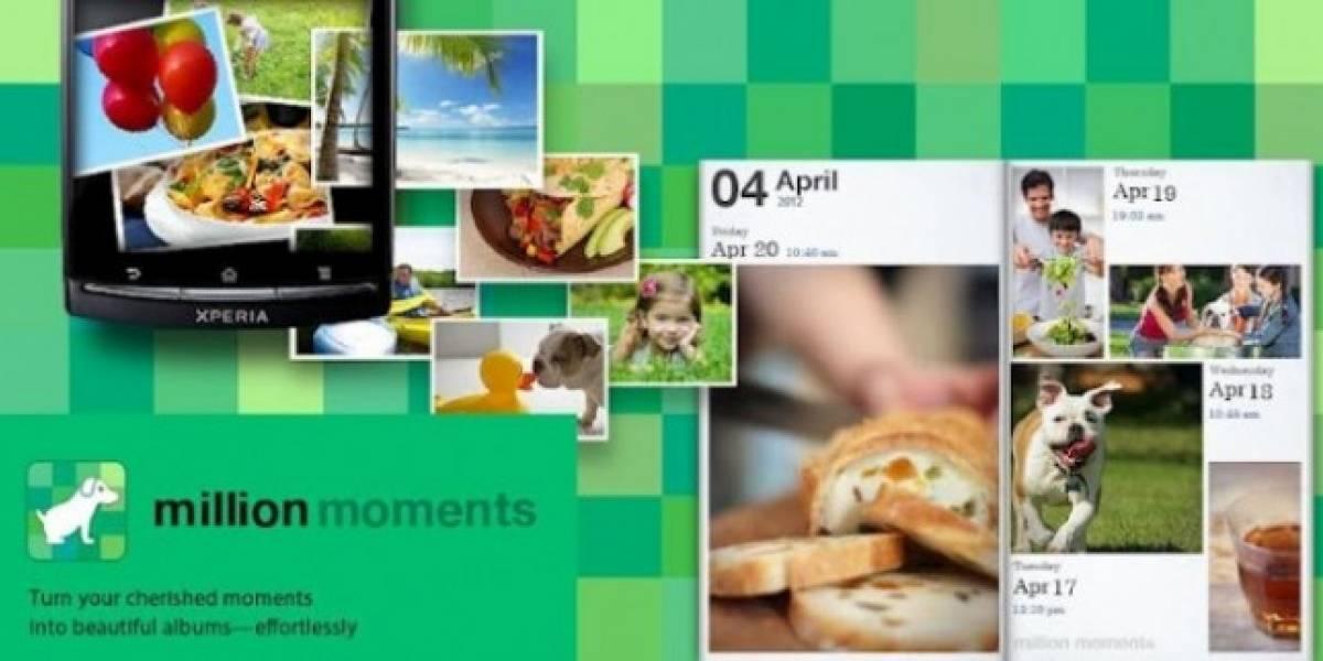 Million Moments: Excelente opción para ordenar el caos de fotos en tu móvil