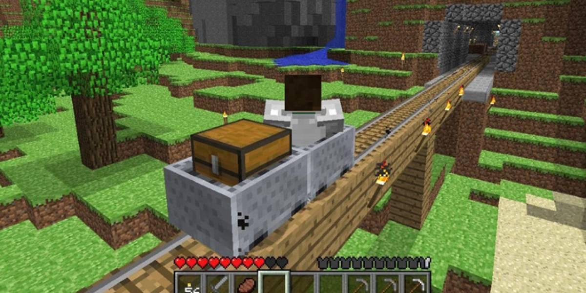 Minecraft: Pocket Edition se actualiza para Sony Xperia Play pero no estará en Vita