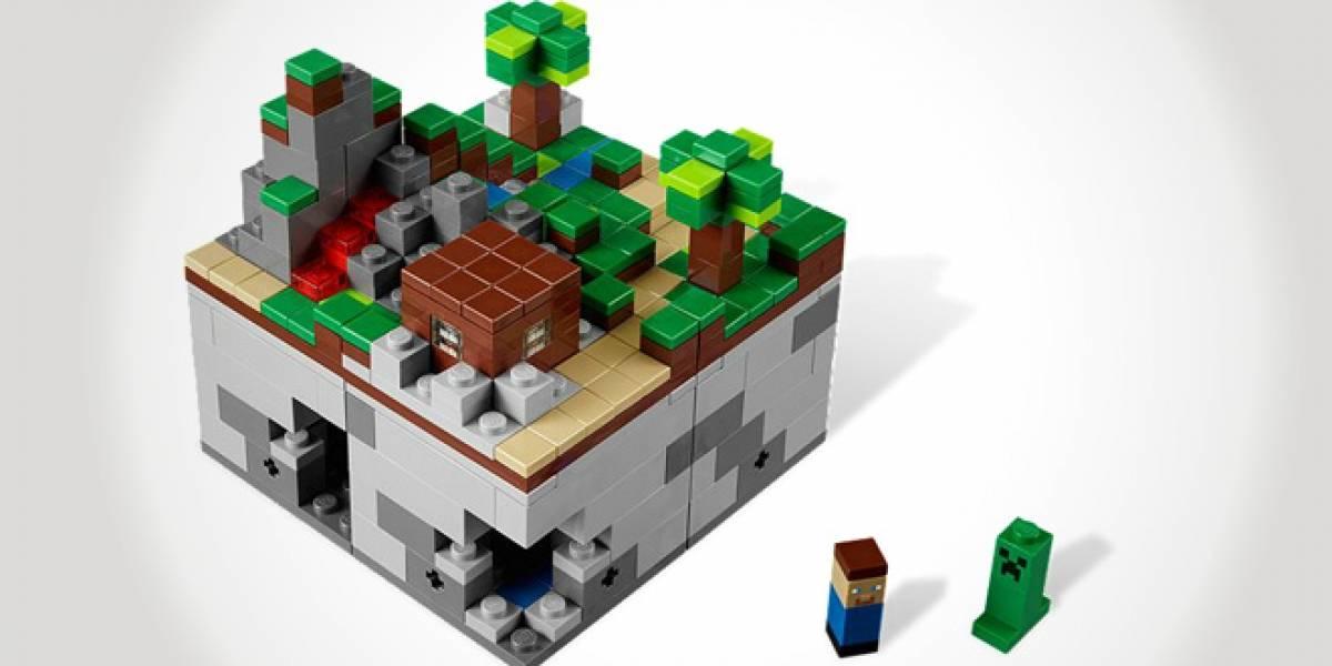 Lego Minecraft ya está a la venta