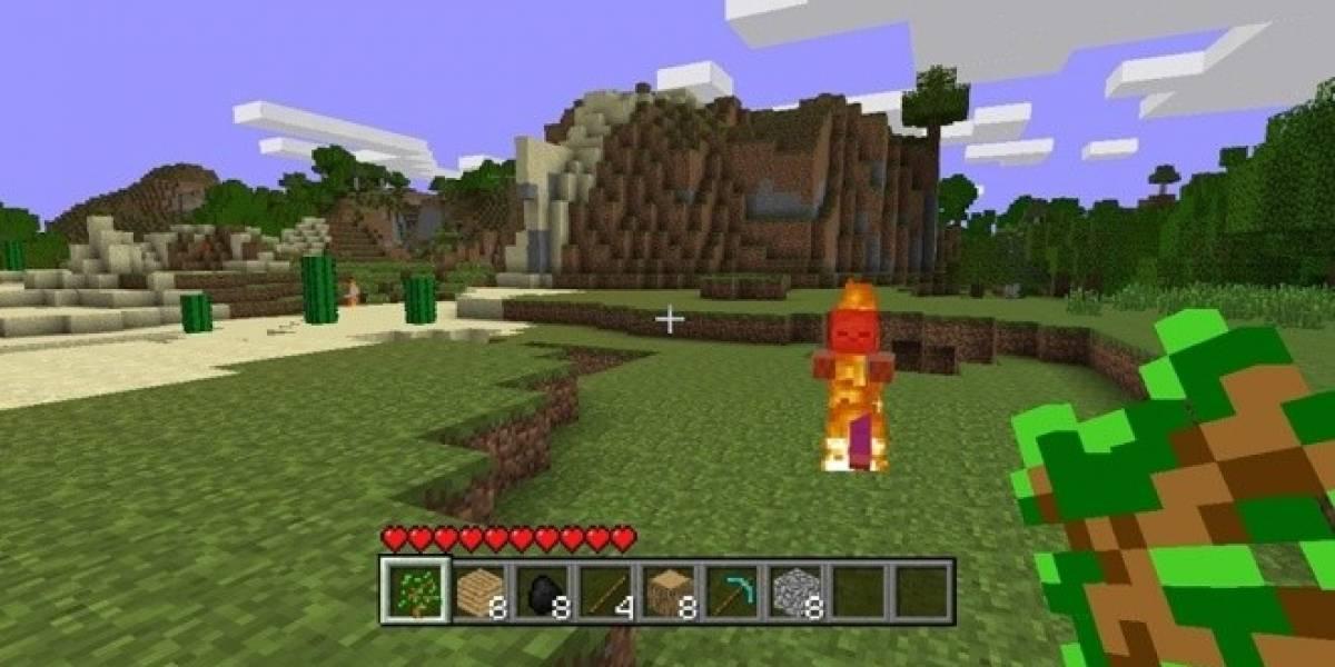 Así se juega Minecraft en Xbox 360