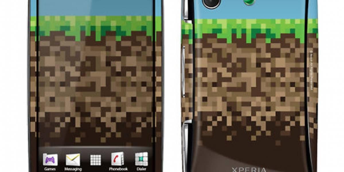 Minecraft llega al Xperia Play, como app y como edición limitada del equipo