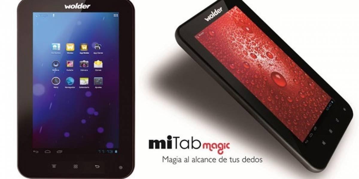 miTab Magic: Una nueva tablet Android de 99 euros que nos presenta la española Wolder