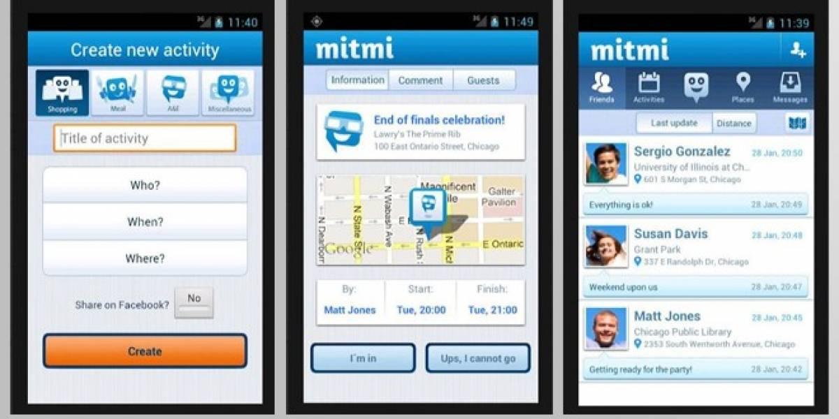 Una aplicación móvil para hacer planes con los amigos