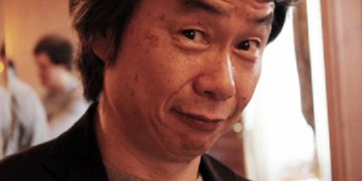 Miyamoto está tocando puertas para que hagan juegos en Wii U