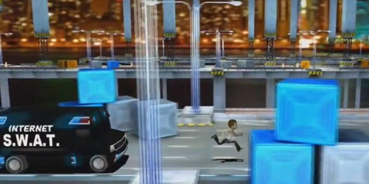 El cierre de MegaUpload ya tiene un videojuego