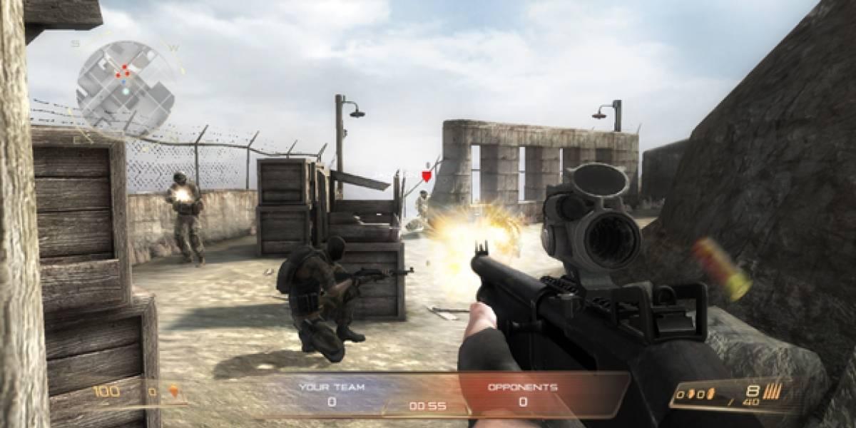 Modern Combat: Domination llegará a la Mac Store