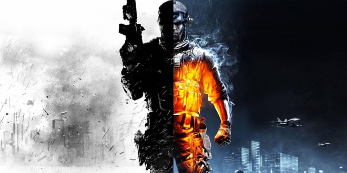 La obligada comparación técnica entre Modern Warfare 3 y Battlefield 3