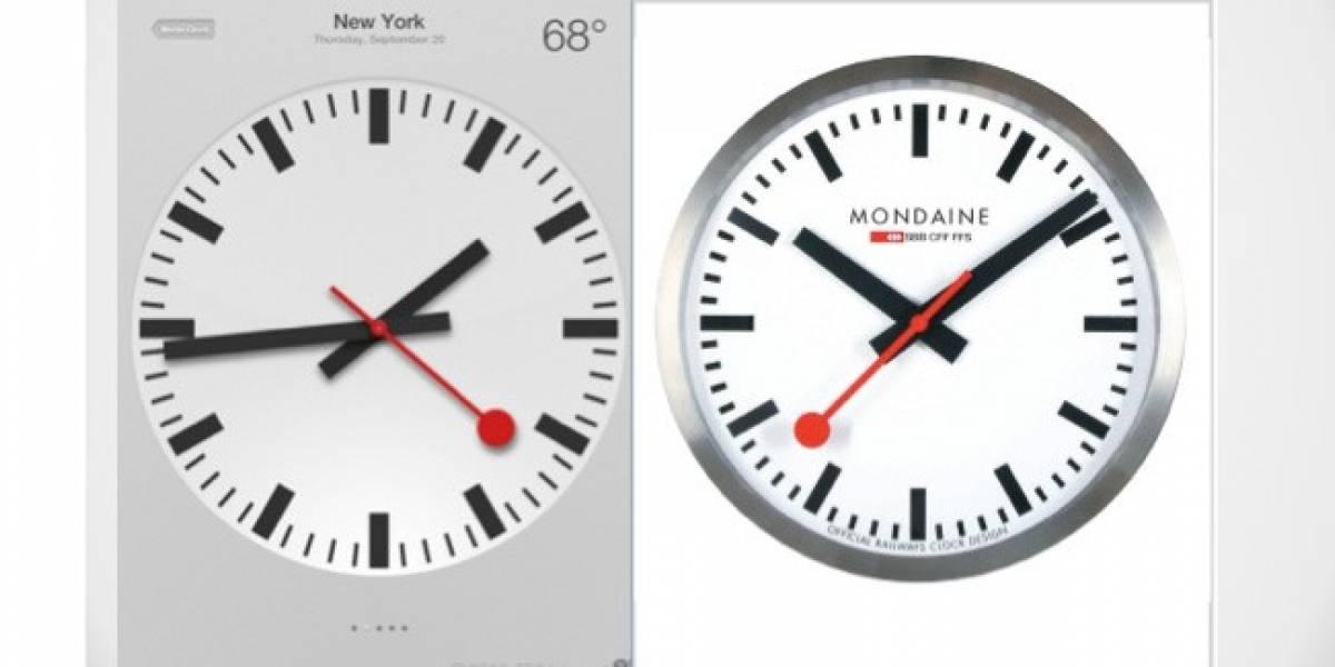 Acusan a Apple de plagiar famoso diseño de relojes suizos