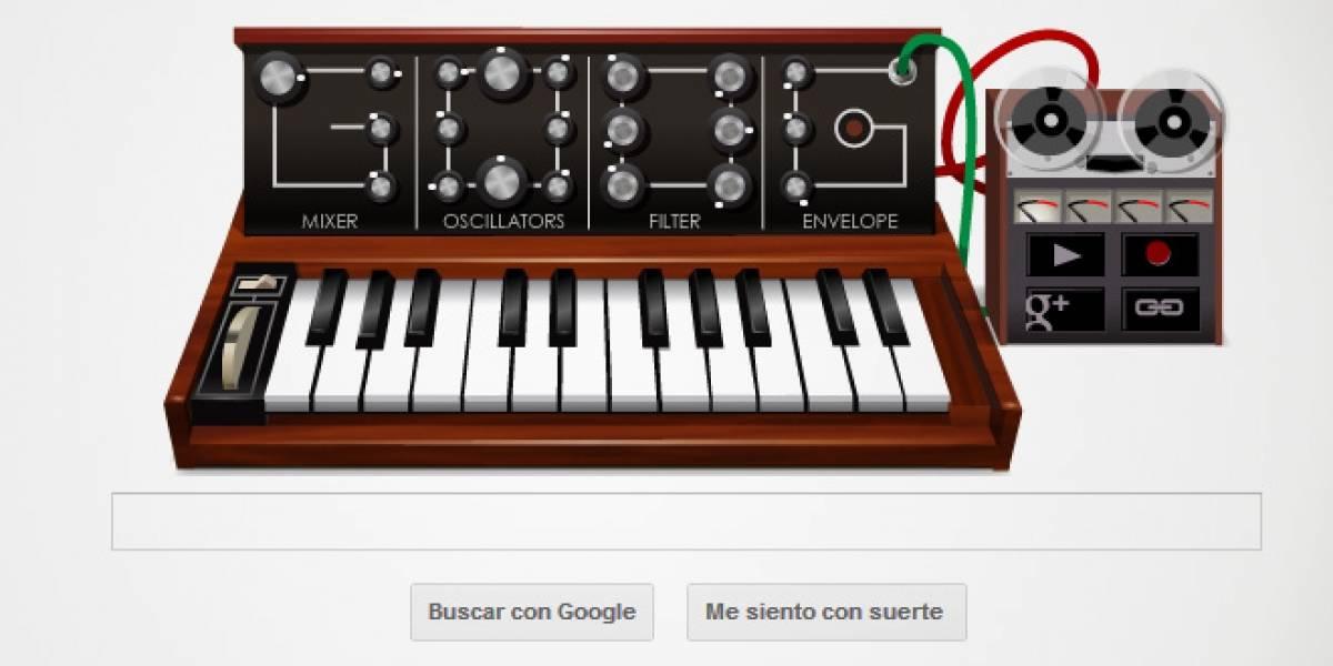 Google homenajea al creador del sintetizador Moog en un genial doodle