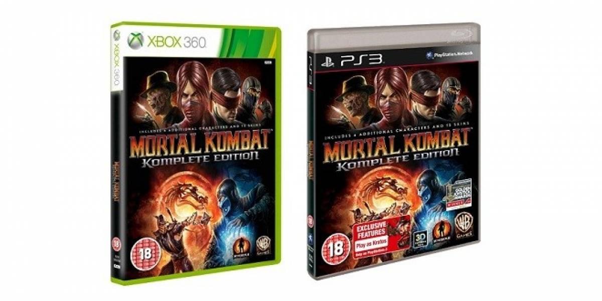 Mortal Kombat Komplete Edition llega en Febrero