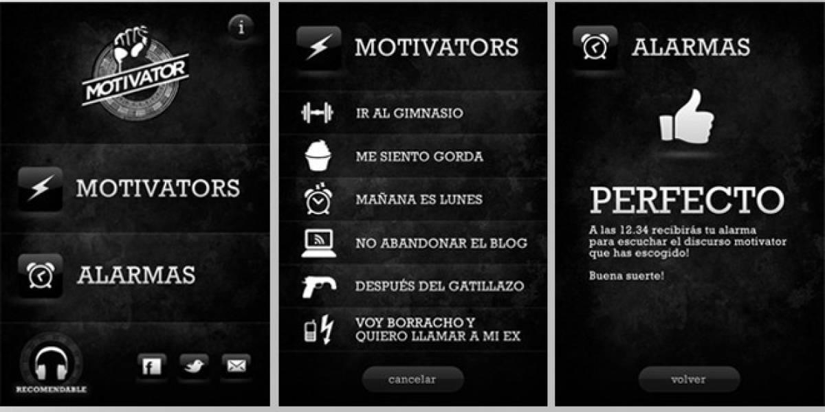 Motivator, una aplicación para levantar el ánimo