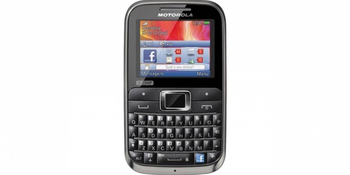 Motorola lanza en Brasil un equipo con capacidad para 3 tarjetas SIM