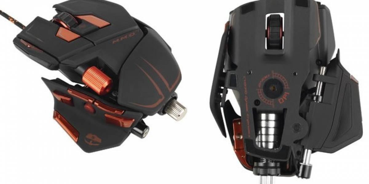 Cyborg M.M.O. 7, un mouse con más de 78 comandos programables ya a la venta