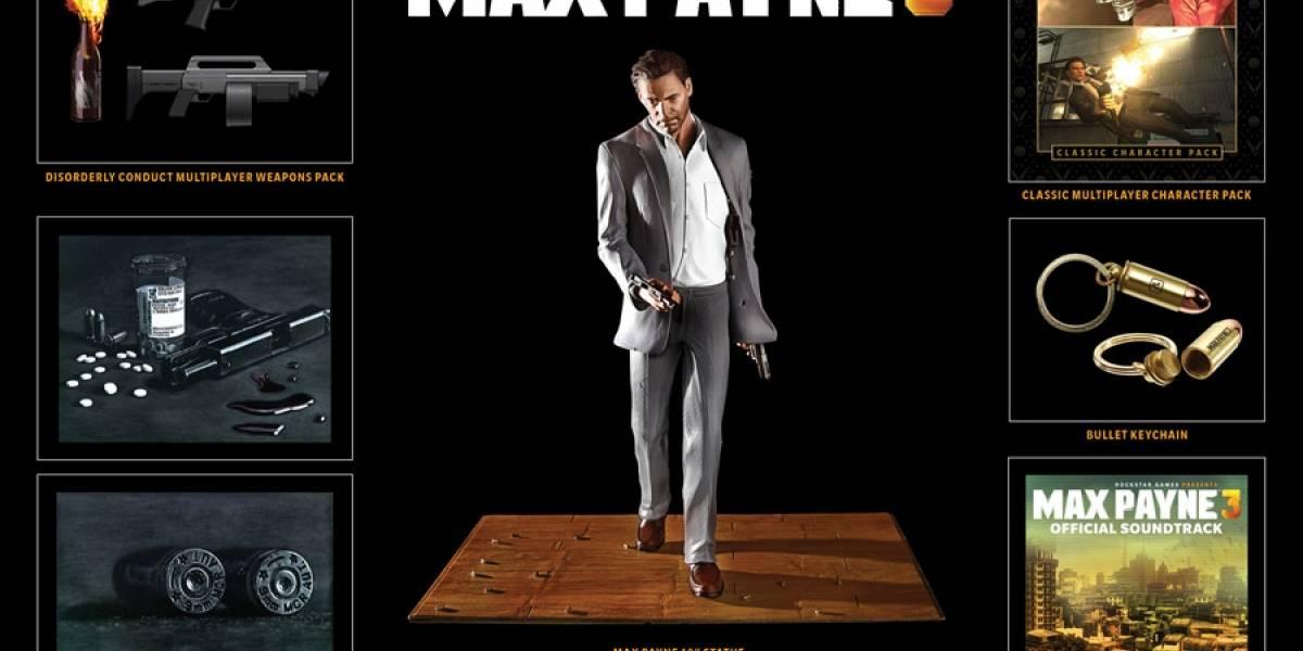 Rockstar anuncia la Edición Especial de Max Payne 3