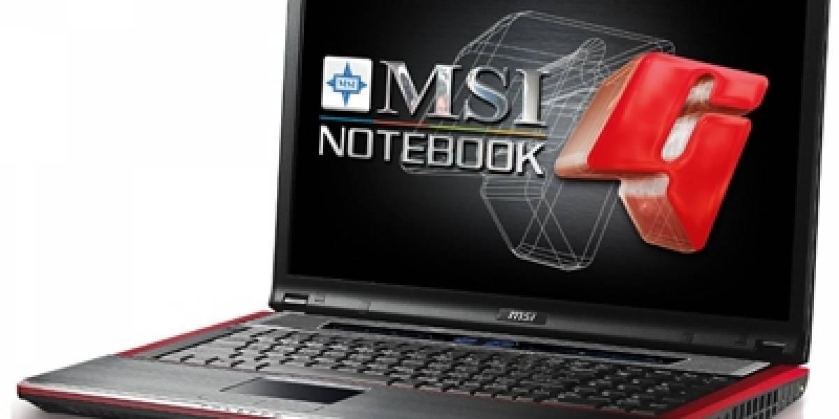 MSI y su nuevo notebook GX723