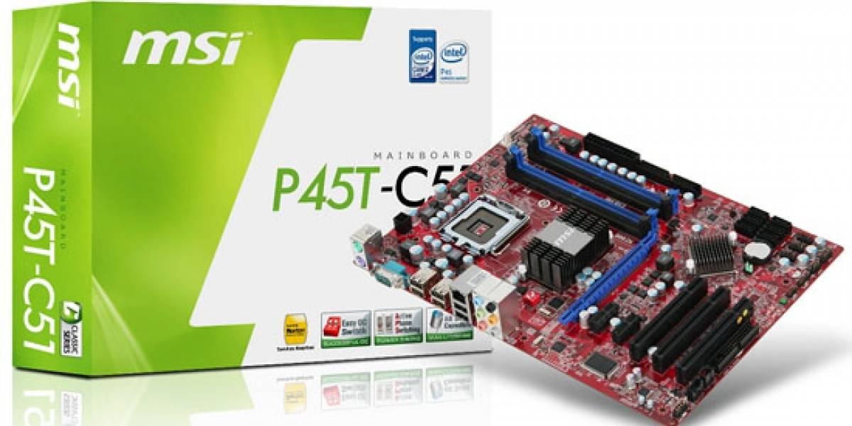 MSI lanza dos nuevas placas madres