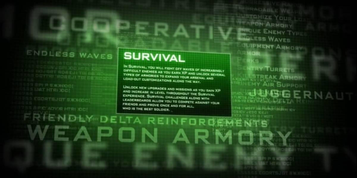 El modo Survival se presenta en este nuevo trailer de Modern Warfare 3
