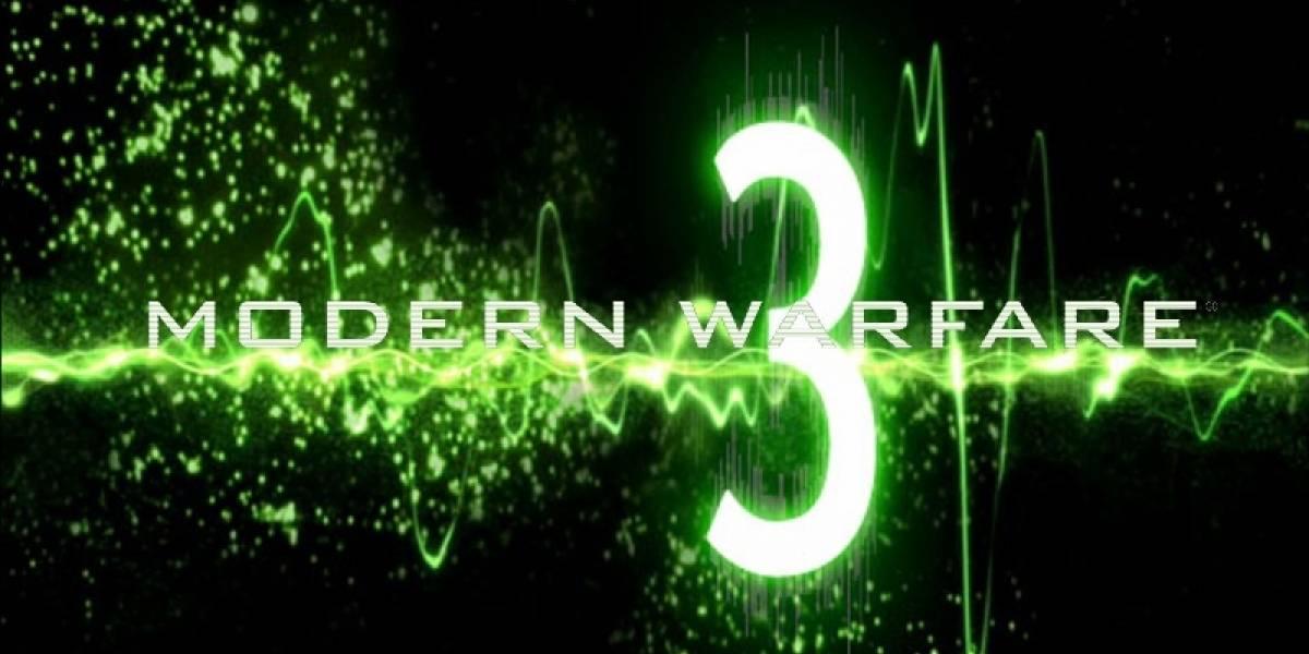 Preventas de Modern Warfare 3 superan las de Black Ops en Reino Unido