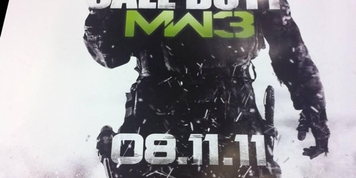 Amazon confirma lanzamiento de Modern Warfare 3 para el 8 de Noviembre