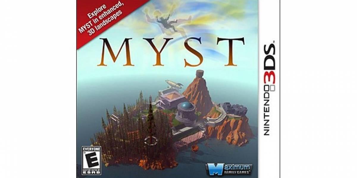 Myst para 3DS en Europa en junio, en el nuevo continente no se sabe con certeza