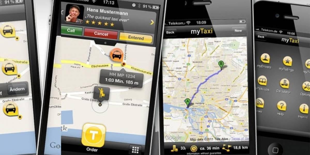 MyTaxi: Otra aplicación para pedir taxis desde el móvil en España