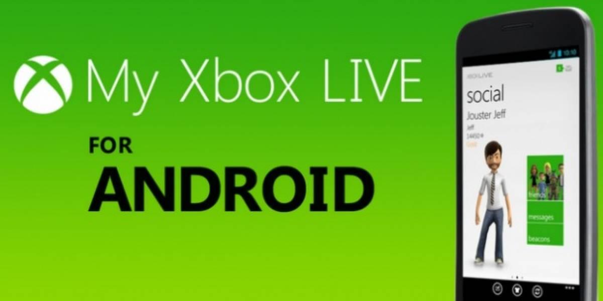 My Xbox Live o el fin de la espera para Android