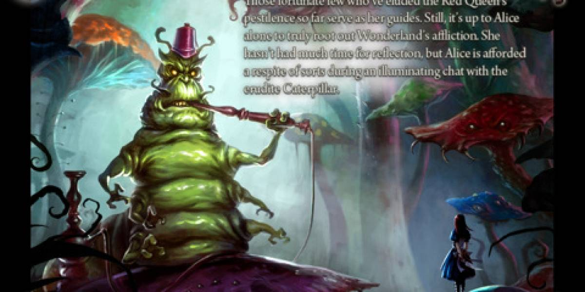 ¿Quieres saber qué pasa entre los dos juegos de Alice? Hay una app para eso