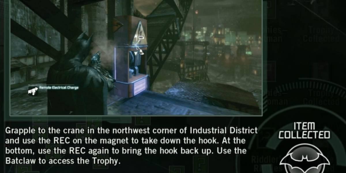 Buscar trofeos en Batman: Arkham City será fácil con nueva App para iOS