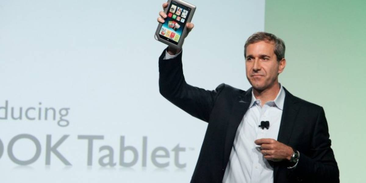 A la fecha se han entregado más de un millón de Nook Tablet
