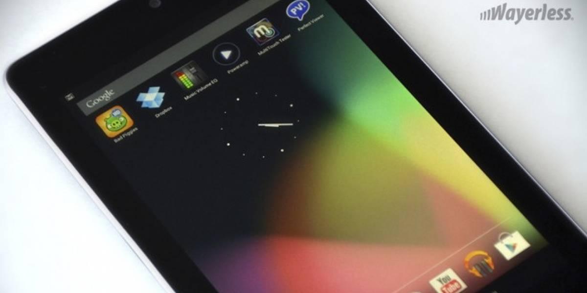 Google actualiza la tableta Nexus 7: Ahora con 32GB e Internet móvil