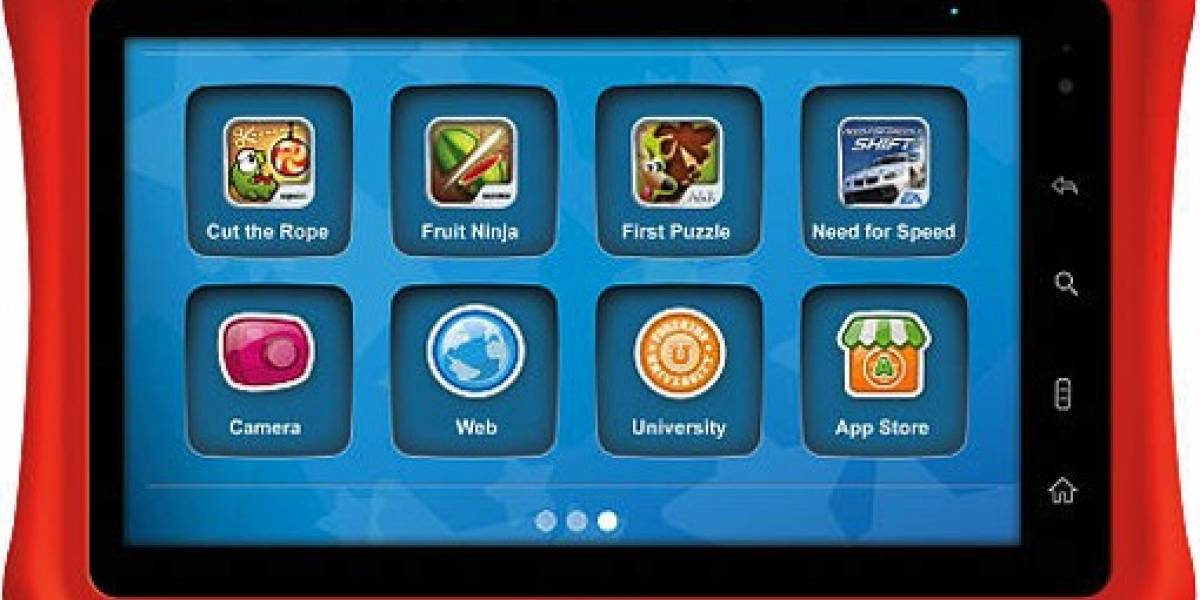 Toys R Us lanza tablet para niños