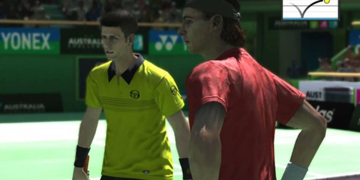 Virtua Tennis 4: Edición World Tour para la PlayStation Vita