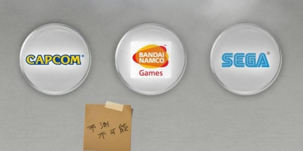 El sitio del proyecto de Capcom, Namco y Sega se actualiza con nuevas pistas