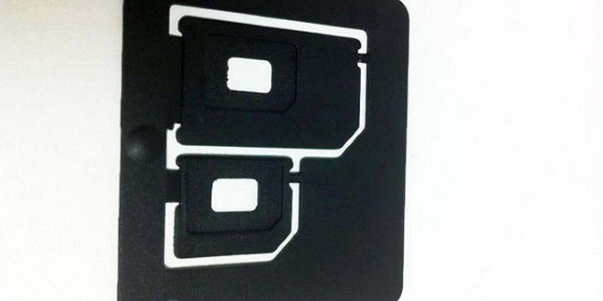 Listos los adaptadores para las nuevas nano SIM