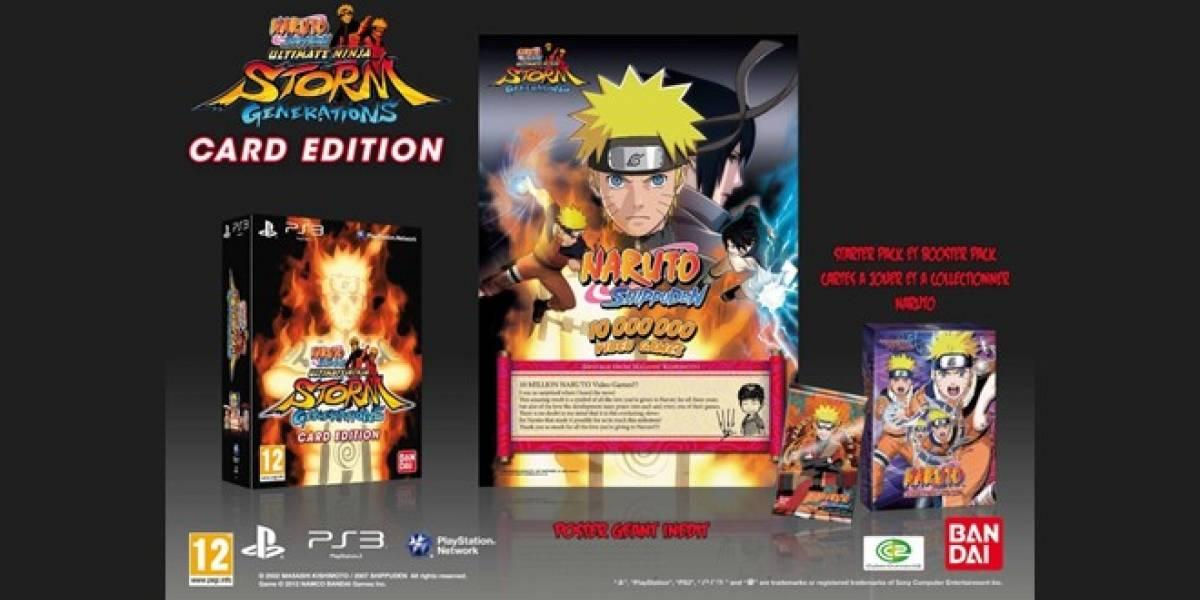 España: Namco muestra cómo funcionan las cartas interactivas de Naruto: Ultimate Ninja Storm Generations