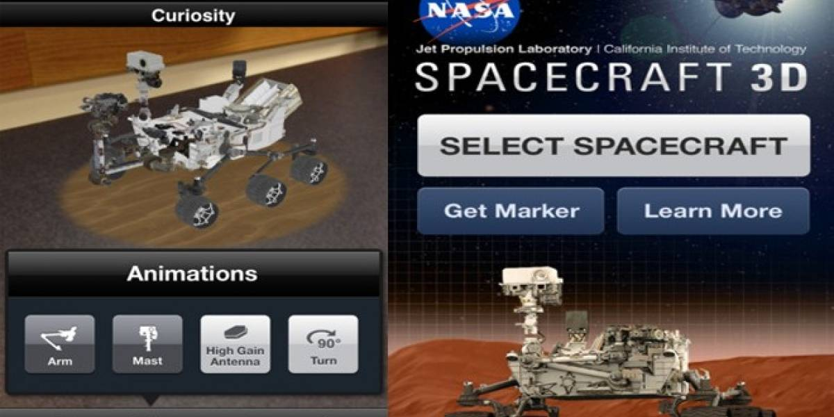 La NASA lanza una aplicación móvil para aprender a manejar sus robots