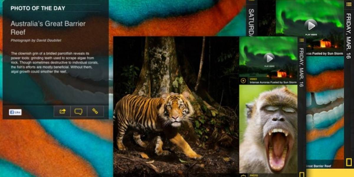La ciencia y la naturaleza en tu iPad con National Geographic Today