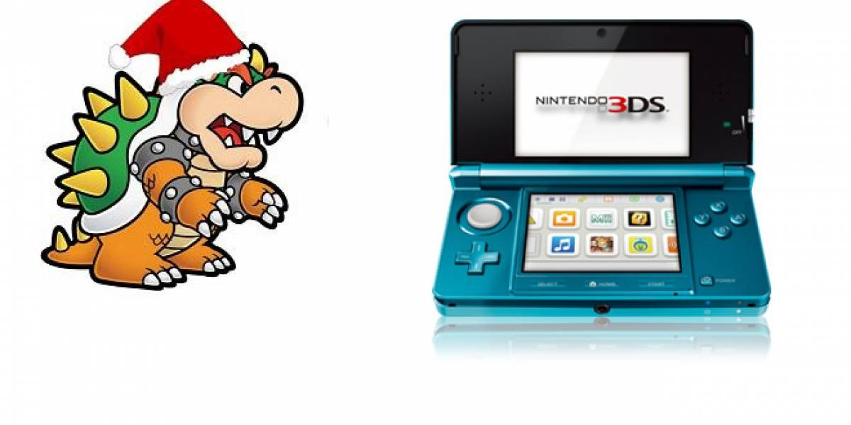 El Nintendo 3DS tuvo una buena Navidad