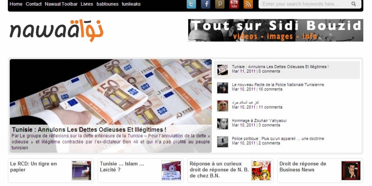 Blogueros de Túnez ganan premio de prensa online