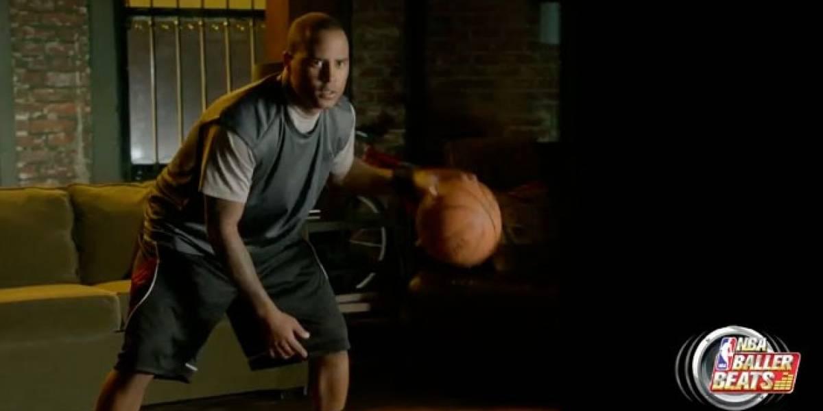 NBA Baller Beats, el juego de Kinect que usa una pelota de verdad